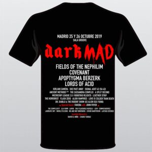 DarkMAD 2019 White/Red T-Shirt