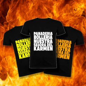 Camisetas Panadería Bollería nuestra Señora del Karmen